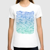 waves T-shirts featuring Ombré Waves by Cat Coquillette