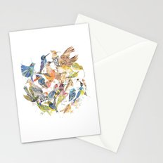Bird Circle Stationery Cards