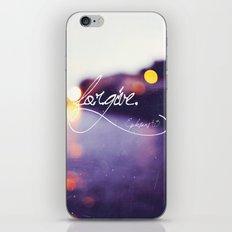Forgive iPhone & iPod Skin