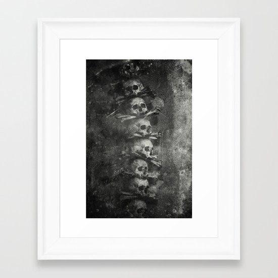 Once Were Warriors III. Framed Art Print