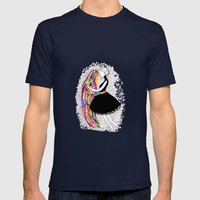 Ghosts Dance Mens Fitted Tee Navy SMALL
