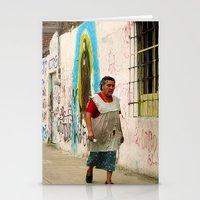 Woman in Guadalajara Stationery Cards