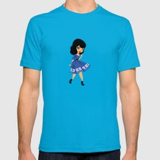 Companion Mens Fitted Tee Teal SMALL
