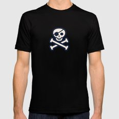 Jolly, Roger That SMALL Mens Fitted Tee Black
