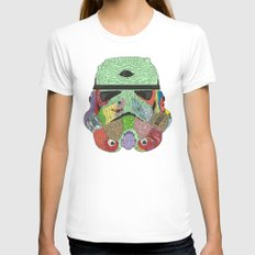 Gore Trooper  Womens Fitted Tee White SMALL