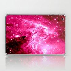 Monkey Head Nebula Hot Pink Laptop & iPad Skin