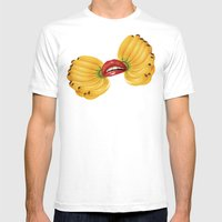 Madame Butterfly  Mens Fitted Tee White SMALL