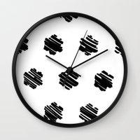 strokes Wall Clock