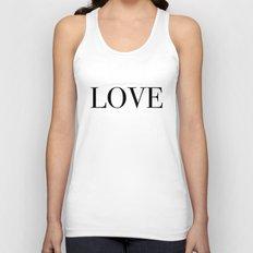 Monochromatic Love Unisex Tank Top