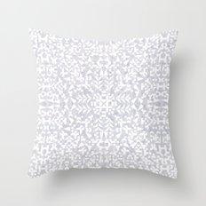 Makai Geo White Throw Pillow