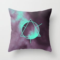 Geometry And Colors V Throw Pillow