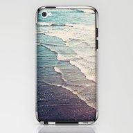 iPhone & iPod Skin featuring Ocean Waves Retro by Kurt Rahn