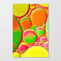A Splash of Colour Canvas Print