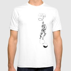 Life SMALL White Mens Fitted Tee