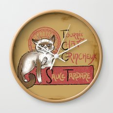 Tournee du Chat Grincheux Wall Clock