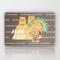 Moctezuma Xocoyotzin Laptop & iPad Skin
