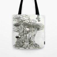 Jungle Friends Tote Bag