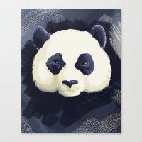Panda Go Panda Canvas Print