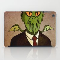 Prophets of Fiction - H.P. Lovecraft /Cthulhu iPad Case