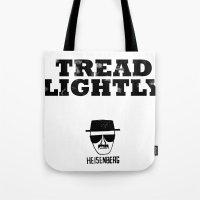 Breaking Bad - Tread Lig… Tote Bag