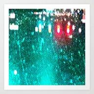 Red Lights Turn Green Art Print