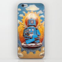 Buddha Bot v5  iPhone & iPod Skin