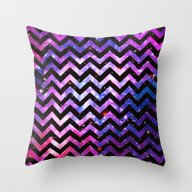 Girly Chevron Pattern Cu… Throw Pillow