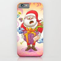 A Christmas Gift from Halloween Creepies to Santa iPhone 6 Slim Case
