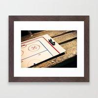 Gameplan Framed Art Print