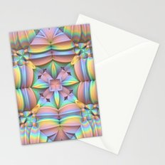 Symmetry in Pastels Stationery Cards
