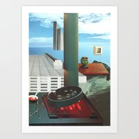 The City As Home 3 Art Print