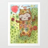 Candy Realm Art Print