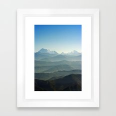 Hima - Layers Framed Art Print