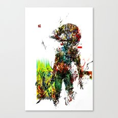 MGS Raiden Canvas Print