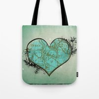 Heart #3 Tote Bag