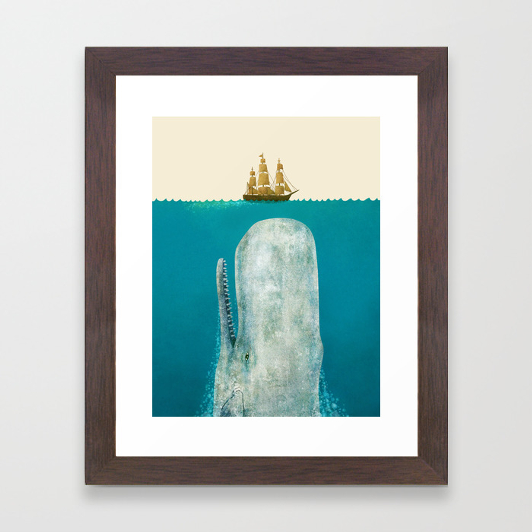 Painting Framed Art Prints Society6