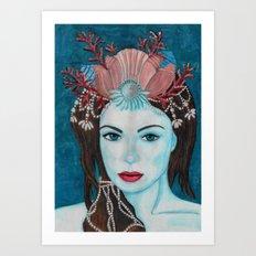 Mermaids - Jewel Art Print