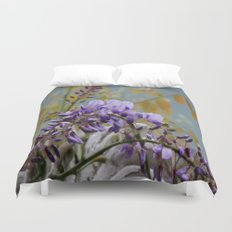 Wisteria - photography Duvet Cover