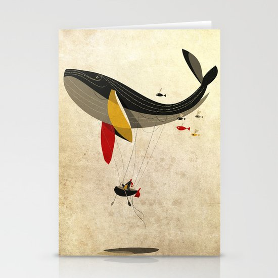 I believe i can fly Stationery Card