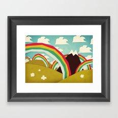 Happy happy joy joy! Framed Art Print