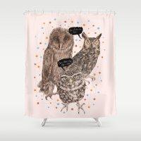 H'Hoo-hoo Shower Curtain