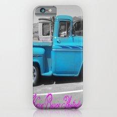 Blue Vintage Slim Case iPhone 6s