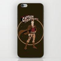 Captain Tightpants iPhone & iPod Skin