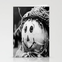 Scarecrow Face Stationery Cards