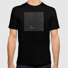 Haywire SMALL Black Mens Fitted Tee