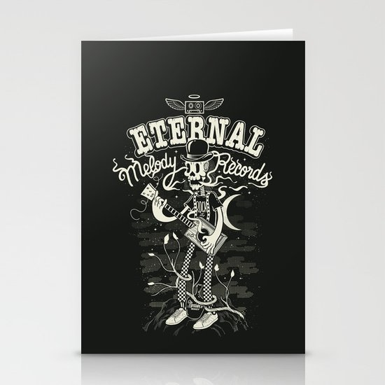 Eternal melody records Stationery Card