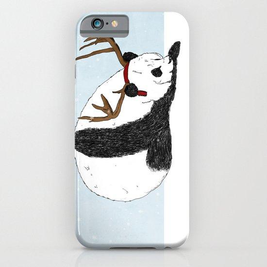 Festive Panda iPhone & iPod Case