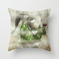 Gentlepesce Throw Pillow