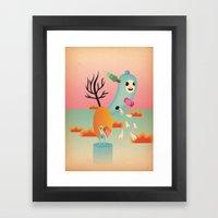 albero fiorito 2011 Framed Art Print