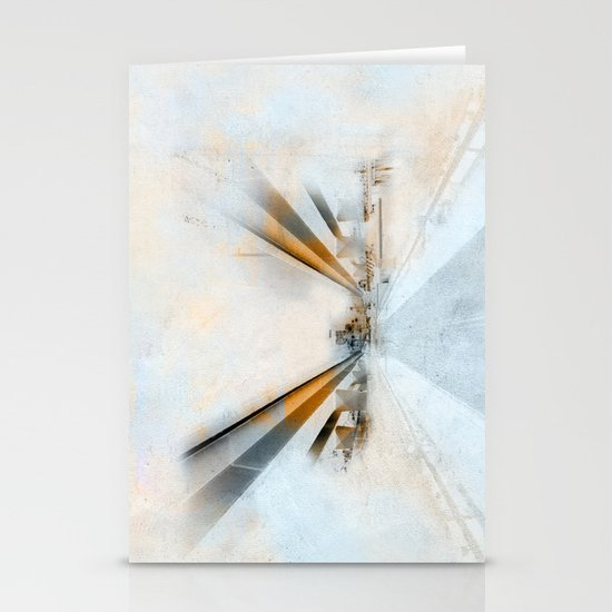 The golden hour of the future Stationery Card